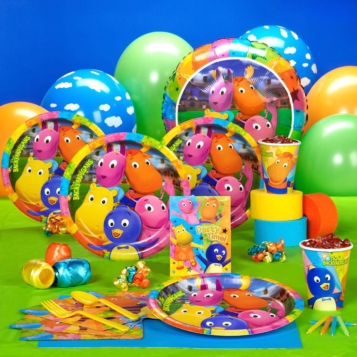 34 best images about backyardigans birthday party on
