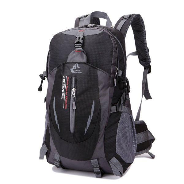 40L Big Capacity Travel Backpack Waterproof Nylon Outdoor Backpack For Women Men - US$30.13