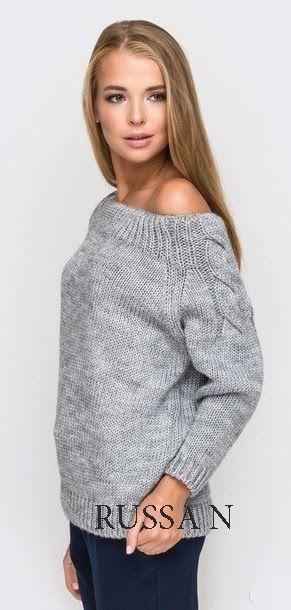 Как хорошо уметь вязать: Пуловер - реглан спицами.............