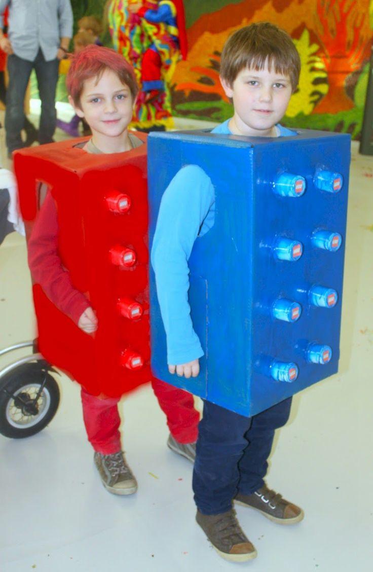 Innovativ Kreativ: DIY-Lego Kostüm
