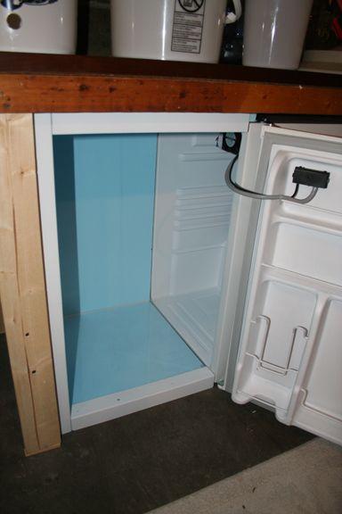 Dorm fridge cus d 39 amato and dorm on pinterest for Craft a brew fermenter
