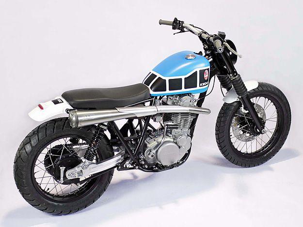 Jefe de Hooker para la motocicleta de triunfo vintage