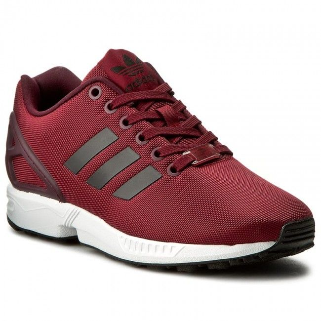 adidas+Zx+Flux+Red+Trainers