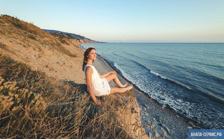Фотосессия Оксаны у моря на закате