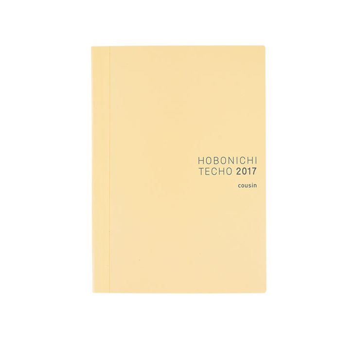 The Hobonichi Techo Planner is the English version of the Japanese Original Hobonichi Techo, specially created in collaboration with ARTS&SCIENCE owner Sonya Park.The book's compact A6 size and page-per-day format provide a place to generously fill an entire year's worth of spur-of-the-moment t...