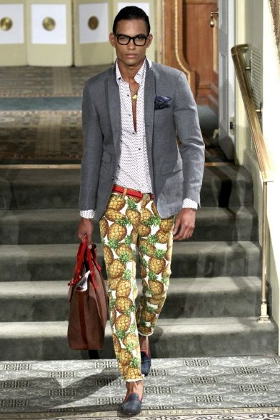 Michael Bastian - Men Fashion Spring Summer 2014 - Shows - Vogue.it