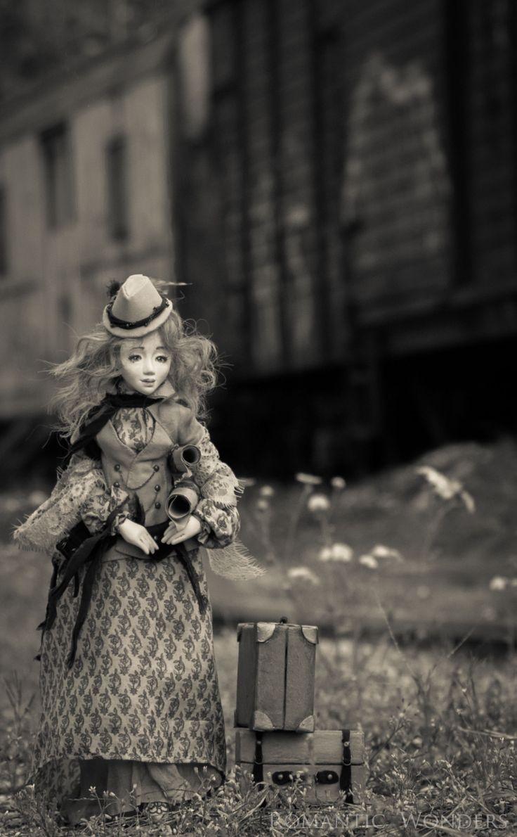 ''Pretty Voyager'' a handmade ooak doll by Romantic Wonders rwdolls.com