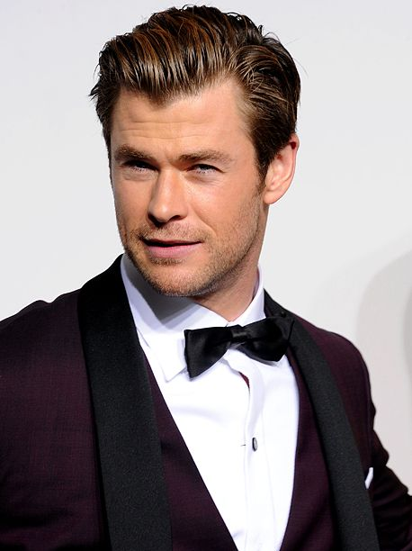 He can answer my phone anytime!  He certainly rings my bell!   http://www.ew.com/article/2015/06/10/chris-hemsworth-ghostbusters