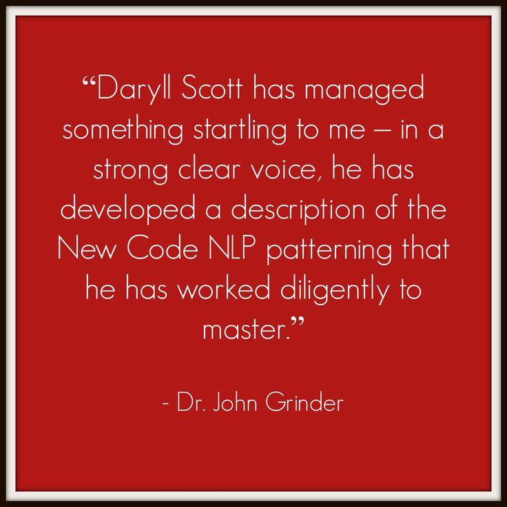 Dr. John Grinder #quote #NLP