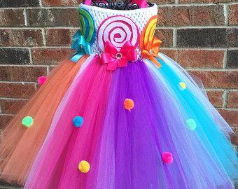 Candyland tutu Vestido de Candy land tierra por GlitterMeBaby