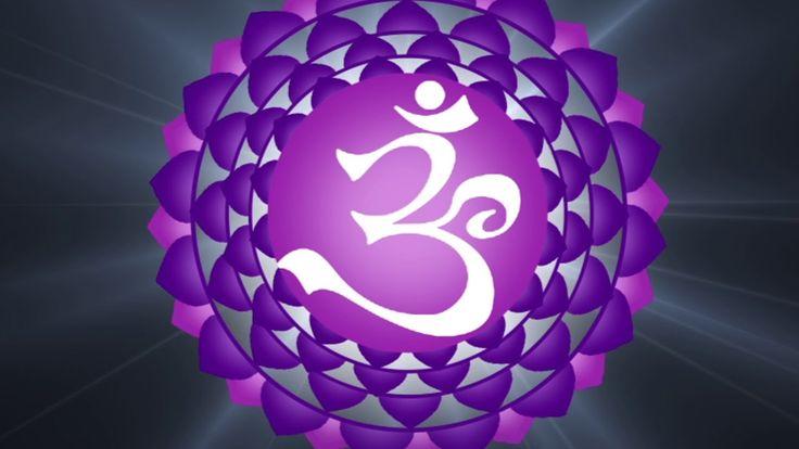 Sahasrara Crown Chakra Meditation ( OM SATYAM ) 108 ...