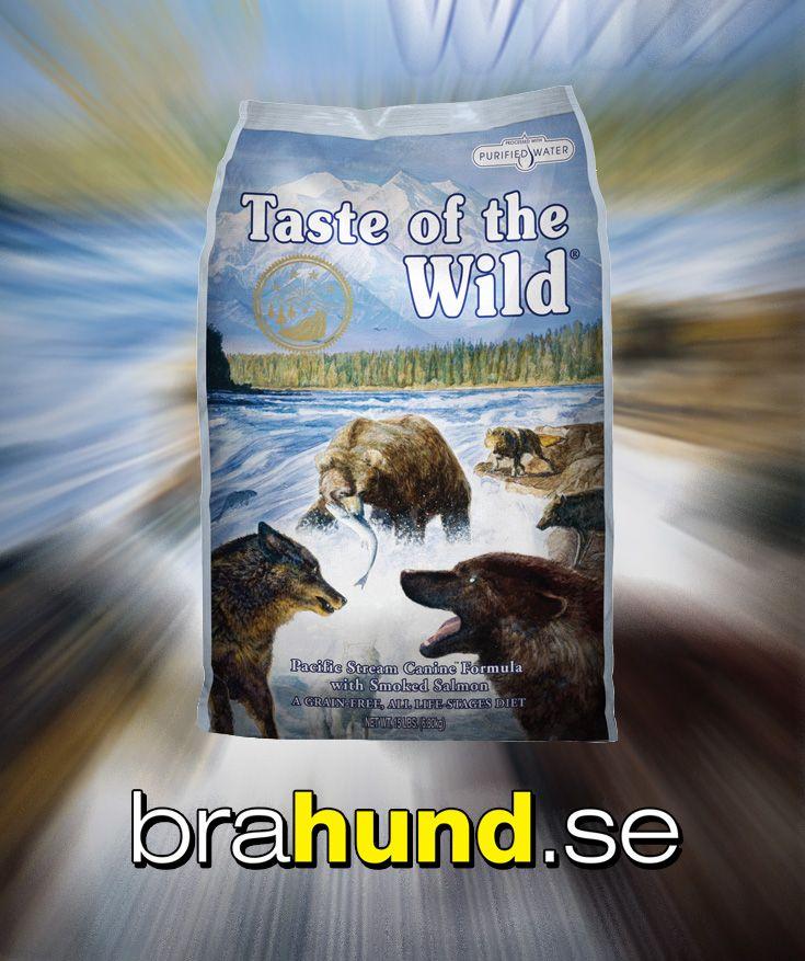 Taste of the Wild Pacific Stream är ett foder som innehåller rökt lax och sötpotatis som ger mycket lättsmält energi för din känsliga hund och som erbjuder en smakupplevelse som inget annat. Formulan är helt fri från ägg. Pacific Stream är kompletterat med frukt och grönsaker, färsk lax och potatis. Denna väl sammansatta formula ger naturliga antioxidanter som stärker din hunds immunförsvar och allmänna hälsa. Ett foder med smak av det vilda.