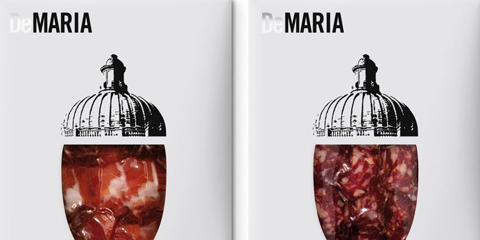 DeMaría, Cold Meat Packs - The Dieline -