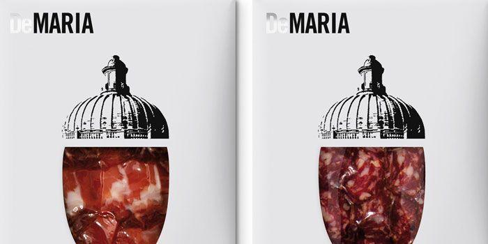 DeMaría, Cold MeatPacks - The Dieline -