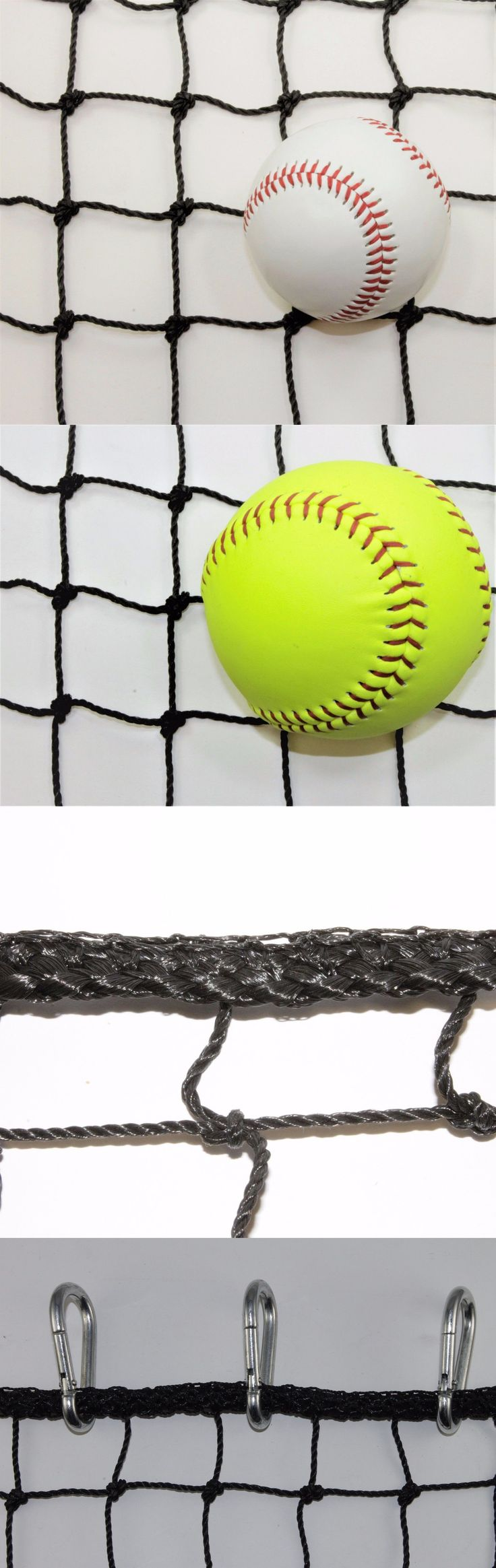 Batting Cages and Netting 50809: #42 - 20 X 30 Heavy Duty Impact Barrier Baseball Net Panel W 15 Carabiners -> BUY IT NOW ONLY: $112 on eBay!