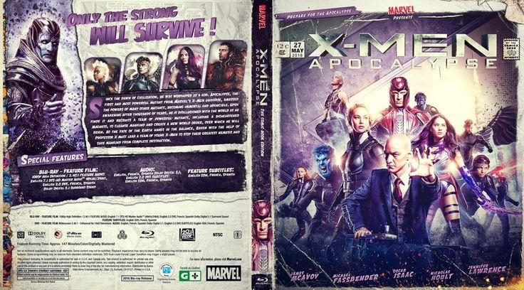 X-Men Apocalypse Blu-ray Case