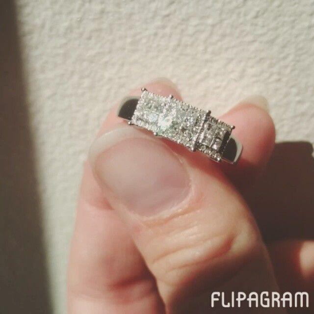 Diamantring juvelen