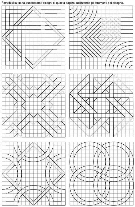 72 best Çizimler images on Pinterest | Patterns, Geometric drawing ...