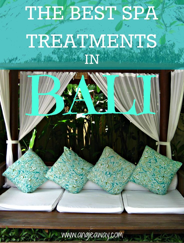 You have to go to Bali if you love massages and cheap spa treatments!