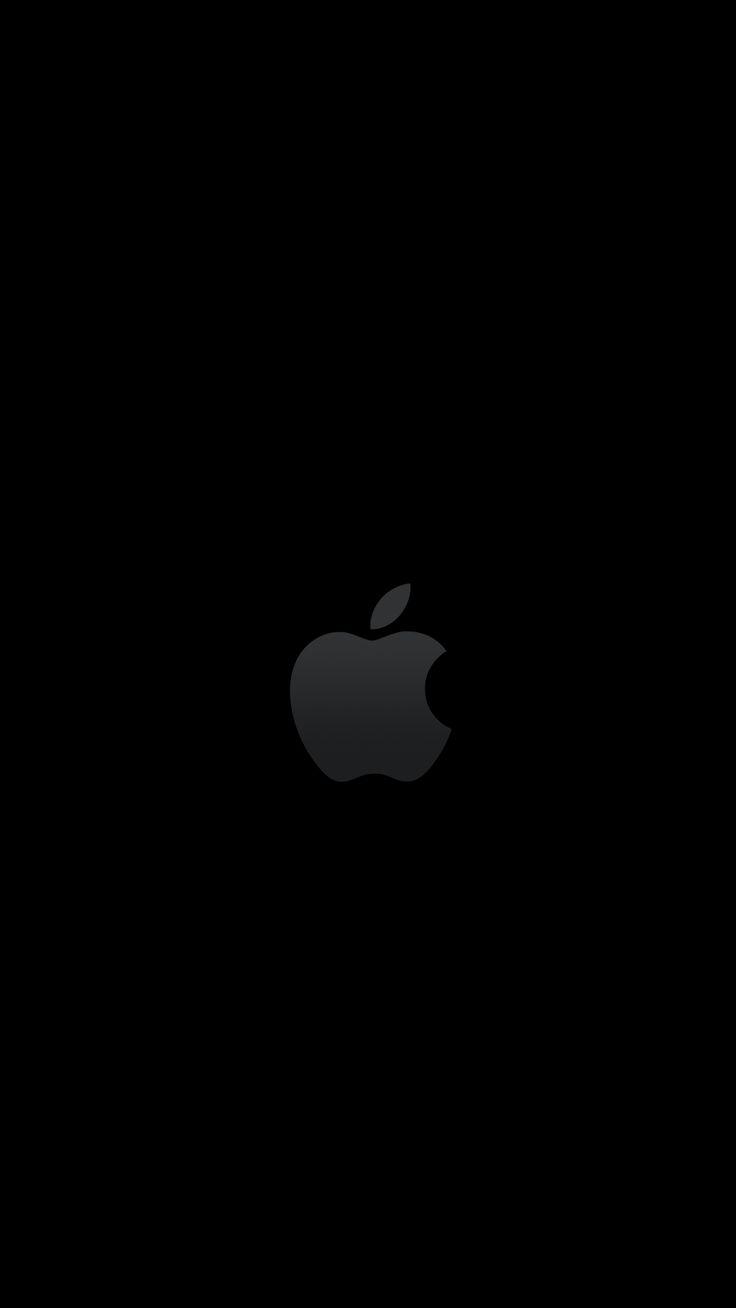 Apple Logo On Vintage Wall Pattern HD Wallpaper