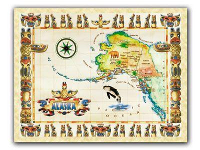 Best ALASKA Images On Pinterest Alaska Alaska Travel And - Alaska usa map cities