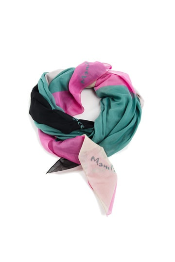 Manila Grace :: Shop Online - manila-grace - scarves - Cotton and silk scarf