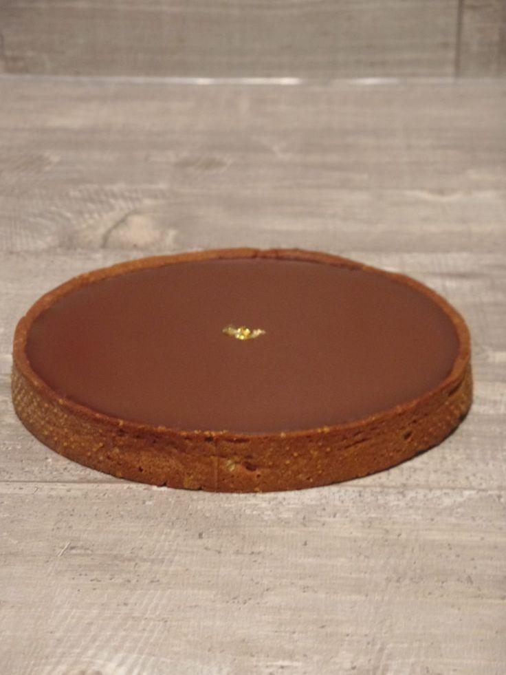 Tarte au chocolat - Olivia Pâtisse