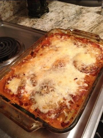 Eggplant Lasagna.  A tasty healthy alternative to original high carbohydrate version!Healthy Alternative, Italian Food