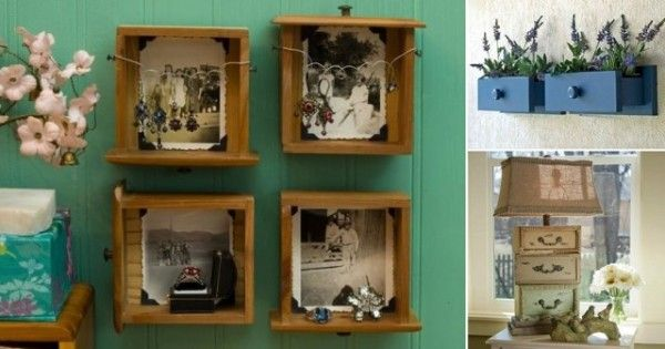 15 Ingenious Ideas To Repurpose Your Old Dresser Drawers - http://www.homesteadingfreedom.com/15-ingenious-ideas-to-repurpose-your-old-dresser-drawers/