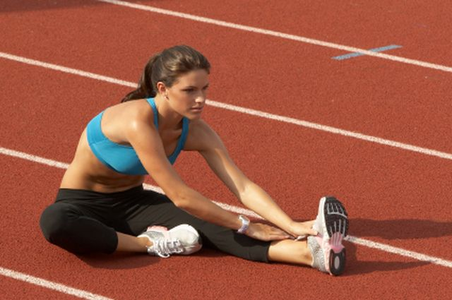 What You Should Know About Hamstring Muscle Strains: Stretching the hamstring muscles.