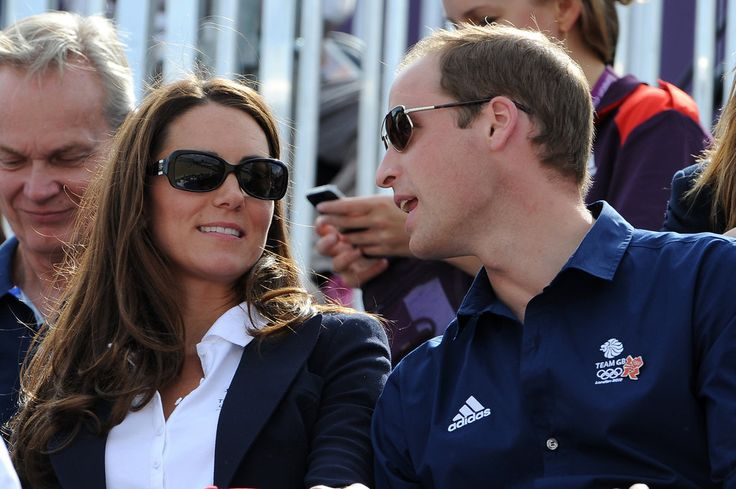 Liking her glasses --> Prince William and Kate Middleton looked cute in their shades cheering on Team GB.