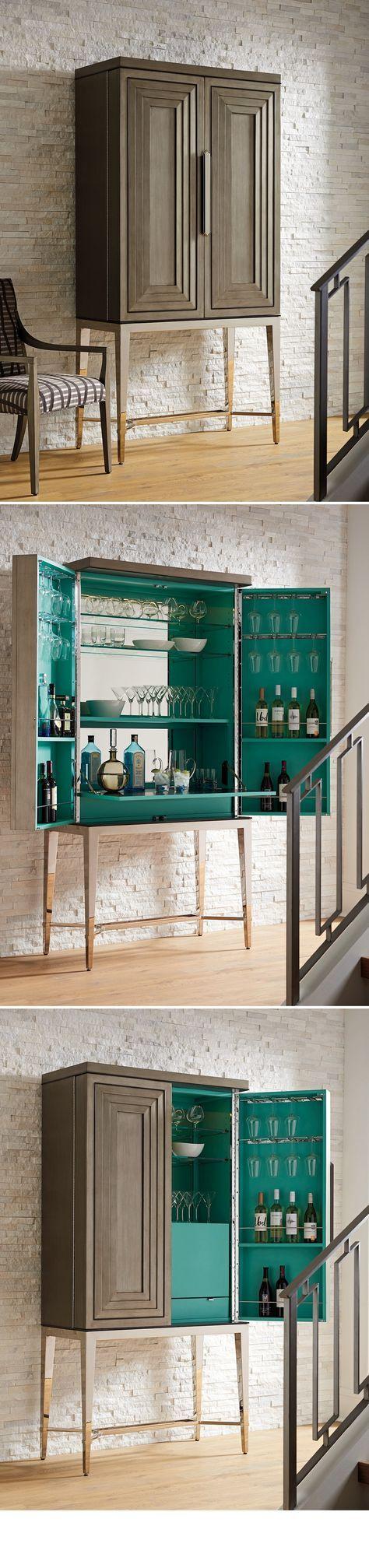 Beautiful Mini Bar with Stools
