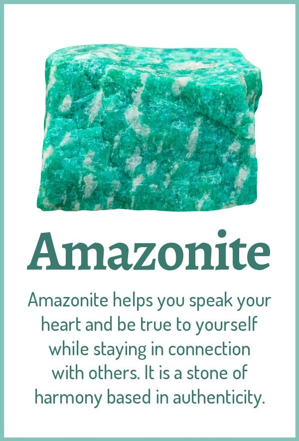 Amazonite Healing Properties Benefits Crystals Crystal