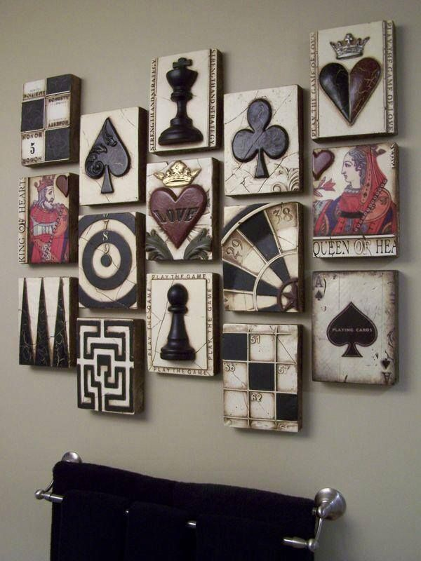 Alice In Wonderland themed wall display (image credit not given) | Muchness (Underland)