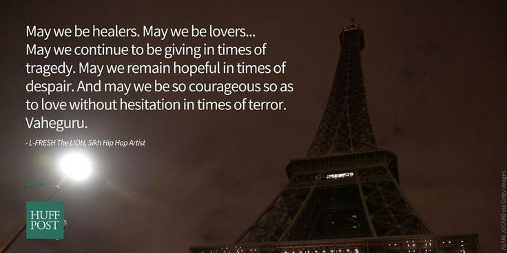 These Powerful Prayers For Paris Will Give You Hope, No Matter Your Faith   HuffPost
