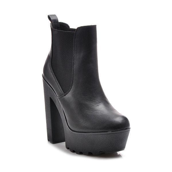Экстравагантные женские ботинки на платформе BF1BPU ФОТО КУПИТЬ ОНЛАЙН | Польская Обувь в Украине