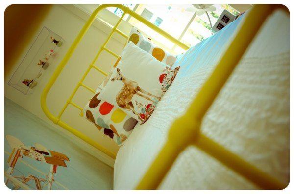 Metalowe łóżka dla dzieci