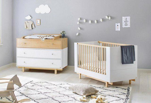 Pinolino Babymobel Set Boks Spar Set 2 St Breit Mit Kinderbett Und Wickelkommode Made In Europe Online Kaufen Otto Babymobel Baby Mobel Babybetten