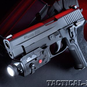 Sig Sauer P226 TacPac 9mm: Dominate anywhere with this all-in-one light, laser and holster system!