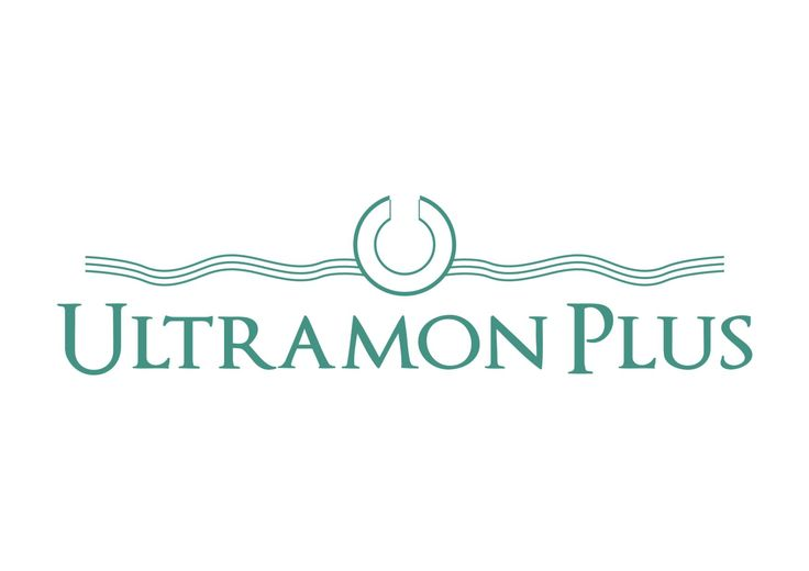Ultramon Plus Romania logo, design by Victor Calomfir