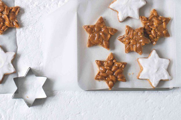 Arašídovo-karamelové hvězdičky