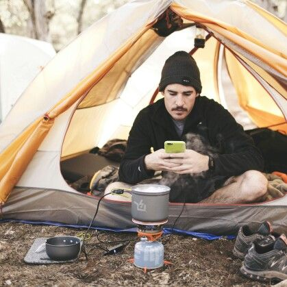 Nothin like a hot cup o' joe and a quick phone charge in the morning | POWERP0T 5 by Power Practical