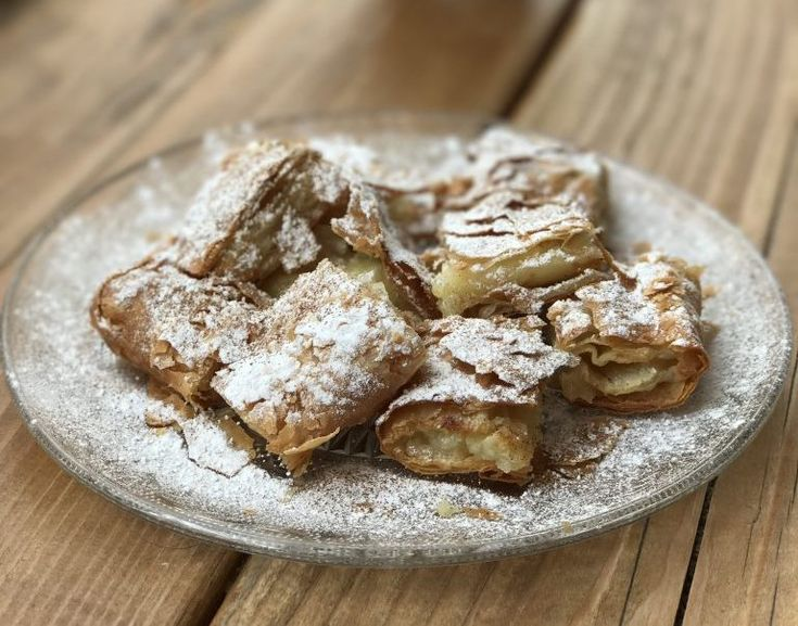This is the authentic Greek bougatsa recipe. A really simple, delicious and creamy recipe for the most famous Greek pastry.