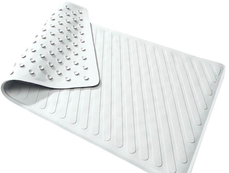 Clean a bathtub mat with vinegar http totrodzcom for How to clean bathroom mats