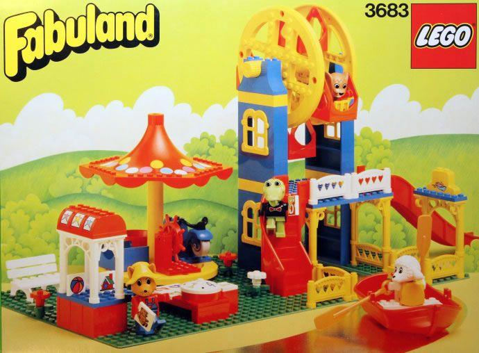3683: Amusment Park  Fabuland, 1988