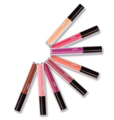 Avon: mark Glossworks Longwear Lip Gloss SPF 15 $12. This gloss is sun kind of wonderful, with SPF 15 built right in! Help keep lips protected from drying UVA and UVB rays and get glossy color and brilliant shine that last for hours! 0.10 oz. net wt.
