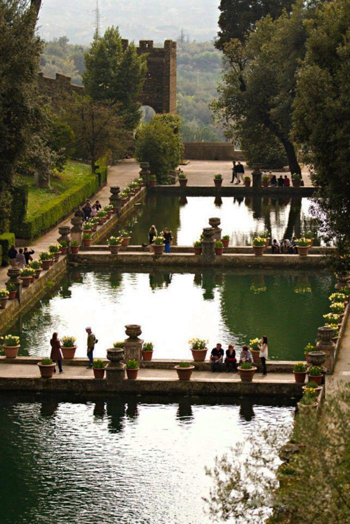 Villa d'Este, Tivoli, Rome,Lazio