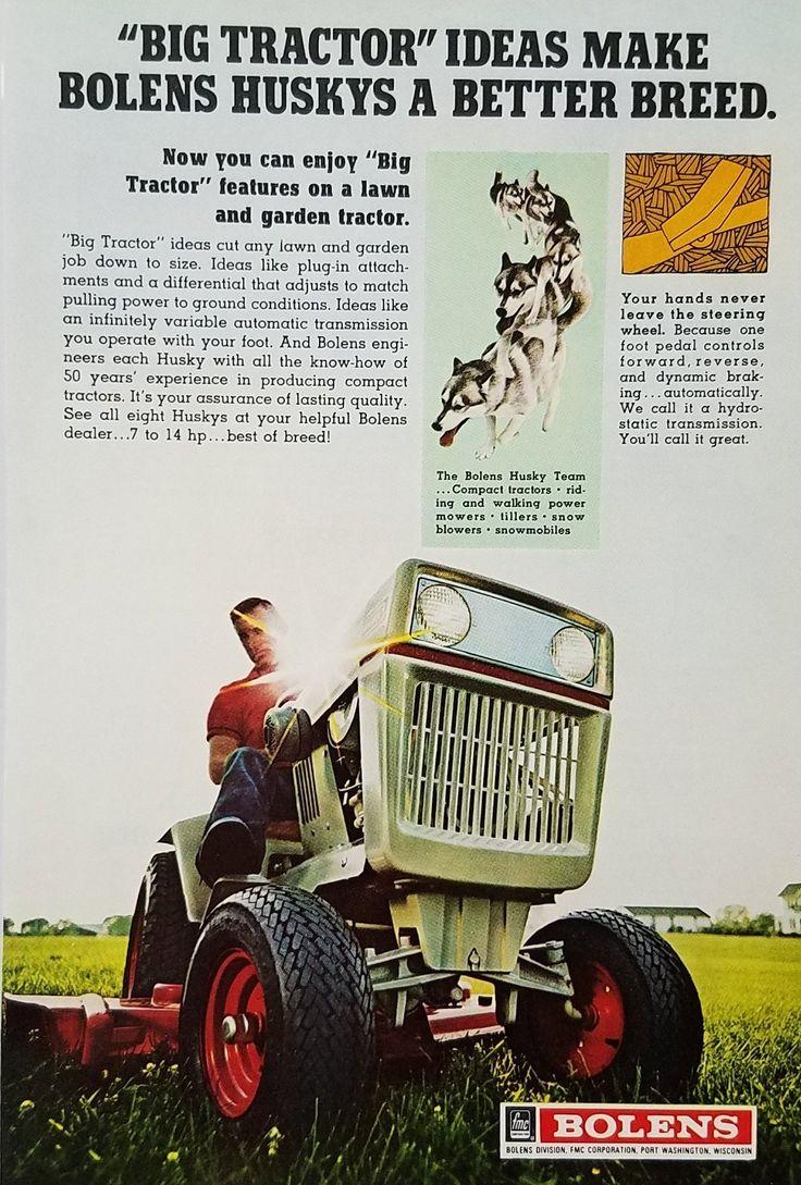 Man On Tractor Lawn Enforcment : Más de ideas increíbles sobre tractores vintage en