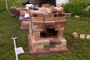 The Dry Stack Brick Oven