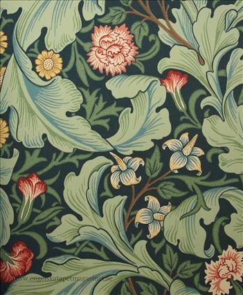Engelska Tapetmagasinet - Leicester William Morris tapet